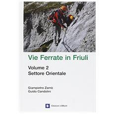 Vie ferrate in Friuli. Vol. 2: Settore orientale.