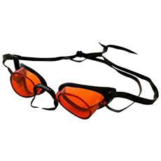 Occhialino Svedese Nuoto - Tinta Unita - Tg Unica - Colore Arancione
