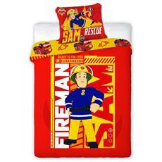 Il Pompiere Set Copripiumino E Copricuscino 200x140 Cm Dekb252051