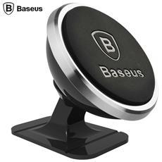 Baseus Mini Strong Suction Magnetic 360 Rotation Car Mount Holder Per Telefoni Cellulari