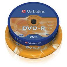 DVD-R / 16x Advanced AZO 4,7GB Spindle 25 units