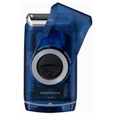M60B MobileShave Rasoio Elettrico a Batteria Colore Blu