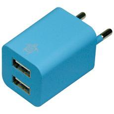 Caricabatterie Home 2 USB - Blu