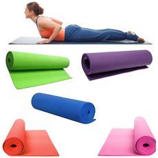Tappetino Tappeto Yoga Addominali Aerobica Palestra Fitness Ginnastica Pilates