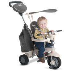 Triciclo Per Bambini 4 In 1 Grigio Voyage