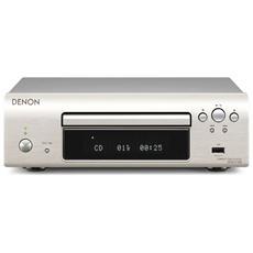 Lettori CD Serie DCD mod. DCD-F109 MP3 porta USB compatibile iPod Colore Argento