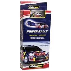 Gioco Da Tavolo Lanciatore Power Rally Motorama Ford Citroen Mini Blu