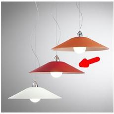 Illuminazione 3641-45-R - Sospensione Con Vetro Satinato