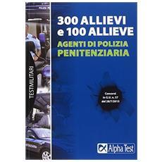 300 allievi e 100 allieve agenti di polizia penitenziaria