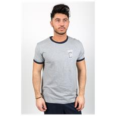 T-shirt Uomo Gymnasium Grigio Blu M