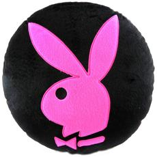 cuscino deco 'playboy' rosa nera - [ l4181]