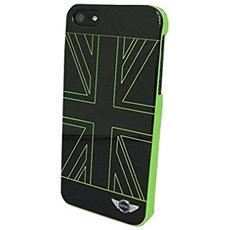 """MNHCP5UJG 4"""" Cover Nero, Verde custodia per cellulare"""