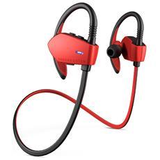 Energy Earphones Sport 1 Bluetooth Aggancio Stereofonico Bluetooth Nero, Rosso auricolare per telefono cellulare
