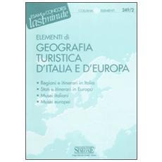 Elementi di geografia turistica d'Italia e d'Europa