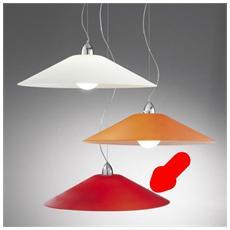Illuminazione 3641-55-R - Sospensione Con Vetro Satinato