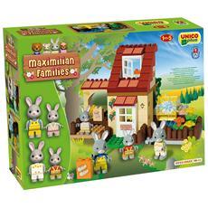 Costruzioni - Maximilian Families - Mulino Ad Acqua Dei Conigli 98 Pezzi
