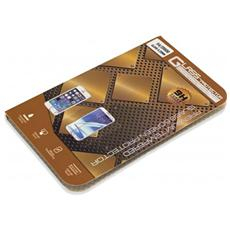 Pellicola In Vetro Temperato Per Alcatel C5 Antigraffio Qualità Premium 0,33 Mm