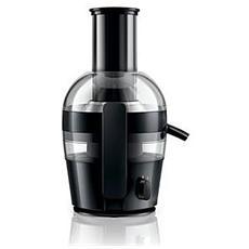PHILIPS - HR1855/00 Viva Collection Centrifuga Capacità 2 Litri Potenza 700 Watt Colore Nero