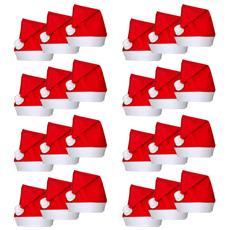 Set 24 Cappelli Babbo Natale