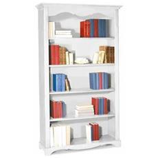 Libreria 5 Ripiani - Bianco Opaco