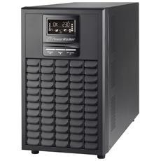 Gruppo di Continuità UPS On-Line VFI 3000 CG PF1 con Fattore di Potenza 1 (3000VA / 3000W)