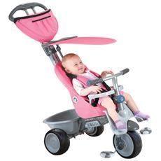 Triciclo Per Bambini 4 In 1 Rosa Recliner