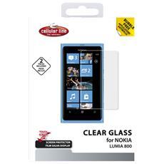 Pellicola 2pz Clearglass L800