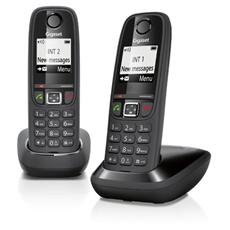 "AS405 Cordless Duo Display 1,8"" Vivavoce - Nero"