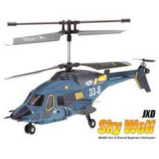 R / C Elicottero Sky Wolf 27/40Mhz 3canali con Giroscopio EP338