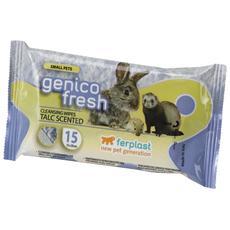 Salviette Detergenti Genico Fresh Rodent Talco X15