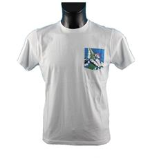 T-shirt Uomo Pocket Hawaii S Bianco