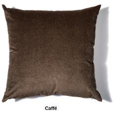 Cuscino Da Arredamento 45x45 In Velluto A Coste Colore Caffe'