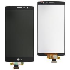 Ricambio Display Originale Lcd Touch + Front Nero Per Lg G4s H735