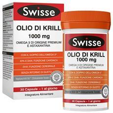 Swisse Olio Di Krill Integratore Alimentare 30 Compressore