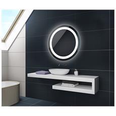 Controluce Led Specchio 65cm Su Misura Illuminazione Sala Da Bagno L33