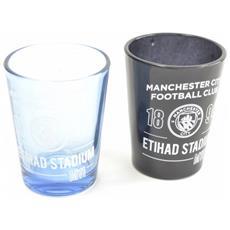 Home Team Bicchieri Da Shot Set Da 2 (taglia Unica) (nero / trasparente)