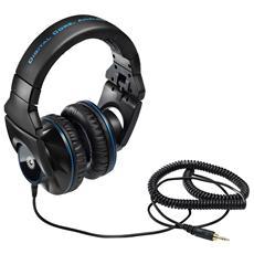 Cuffie DJ ADV G501 ad Archetto colore Nero / Blu