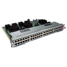 Cat 4500E 48p PoE 802.3at 10/100/1000