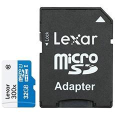 MicroSD da 8 GB Class 10 + Adattatore