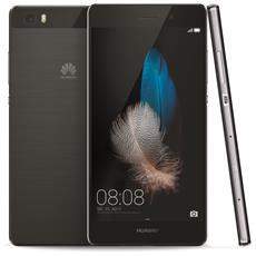 """Ascend P8 Lite Black Display IPS 5"""" HD Octa Core RAM 2Gb Storage 16Gb + Slot Bt WiFi 4G / LTE Fotocamera 13MP / 5MP Android 5 - Italia RICONDIZIONATO"""