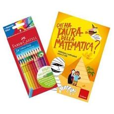 Libro Analogico Chi Ha Paura a Matematica 2 + 12 Pastelli
