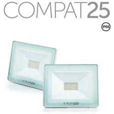 Vr25bn Compat Proiettore Led Slim 25w Ip65 4000k