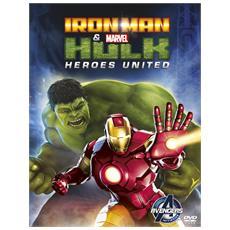 Dvd Iron Man & Hulk - Heroes United
