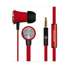 Auricolare fighter stereo 3,5mm red ubsound