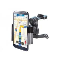 Supporto ADJ Airy per Iphone / Smartphone / Navigatore per presa d'aria dell'auto Office Series Col. Nero