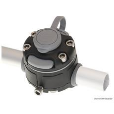 Lock per fissaggio su tubo Ø22/25 nero