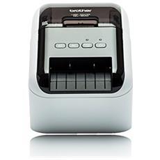 Stampante per Etichette QL800 300 x 600 dpi Colore Nero e Bianco