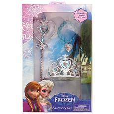e3c21c04bfc562 Frozen Elsa Corona Scettro E Braccialetto Nuovo Originale Set Completo