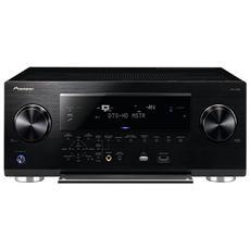 VSX-330-K, 50/60 Hz, AM, FM, Cablato, AAC, MP3, WMA, 24-bit / 192kHz, Surround