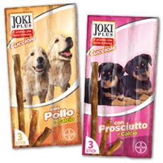 Snack per Cani Cucciolo 3 stick da 15 gr al Prosciutto
